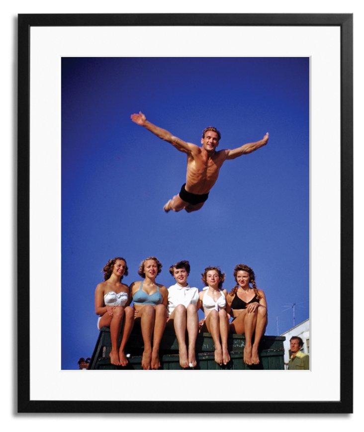 Harold Lloyd, Muscle Beach