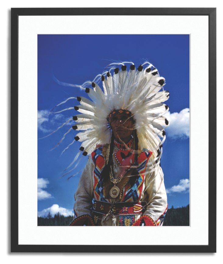 Harold Lloyd, Native American Chief