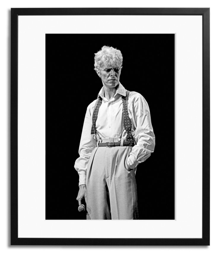 David Bowie 1983 Black and White