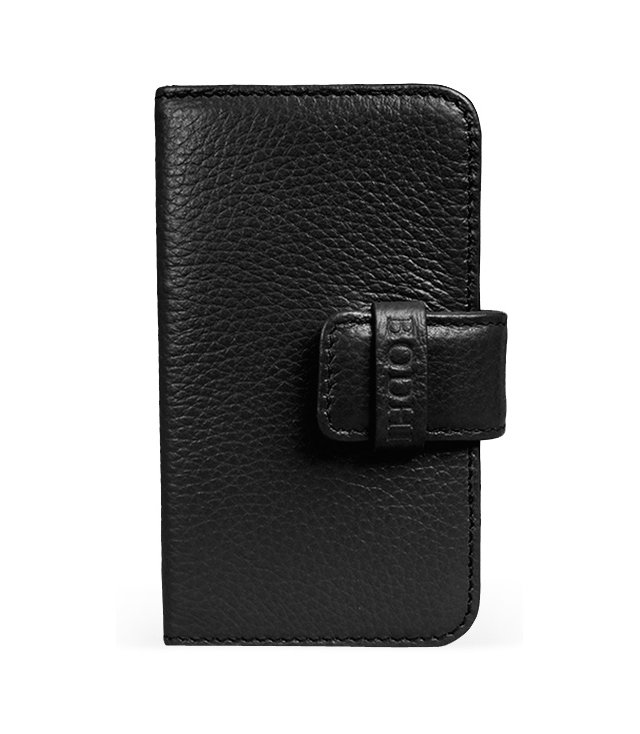 Leather iPhone Wallet, Black