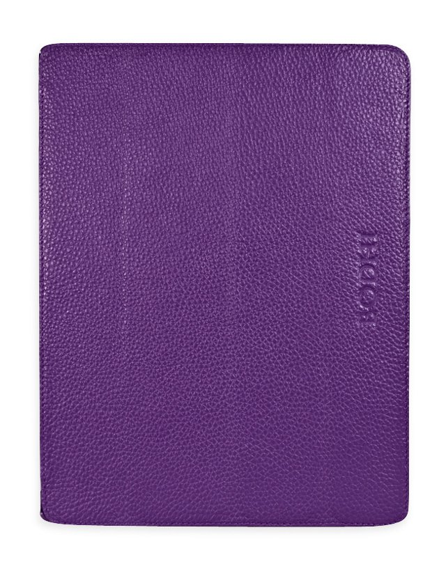 Ultra Thin Leather iPad Easel, Violet