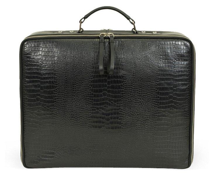 Portable Office Briefcase, Black