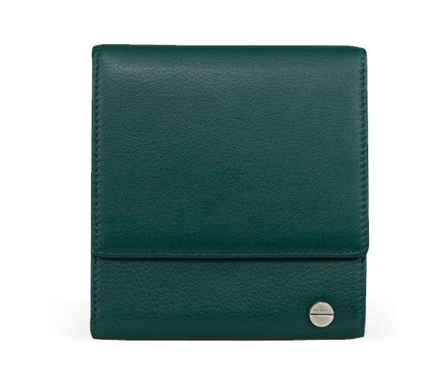 Small Classic Tri-Fold Wallet, Mallard
