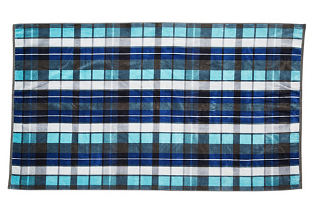 Oversize Original Surf Plaid Towel
