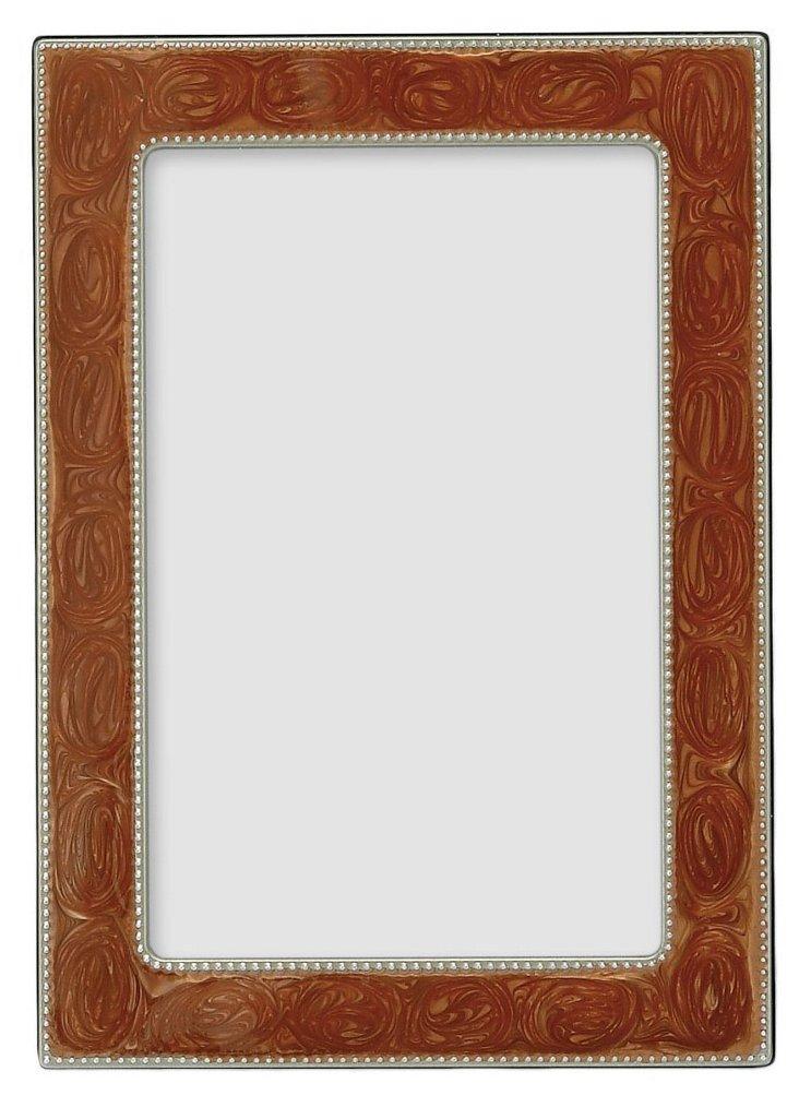 S/2 Tortoise Shell Frames, 4x6
