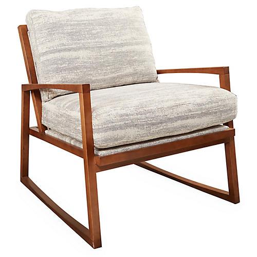 Markus Chair, Gray Tweed