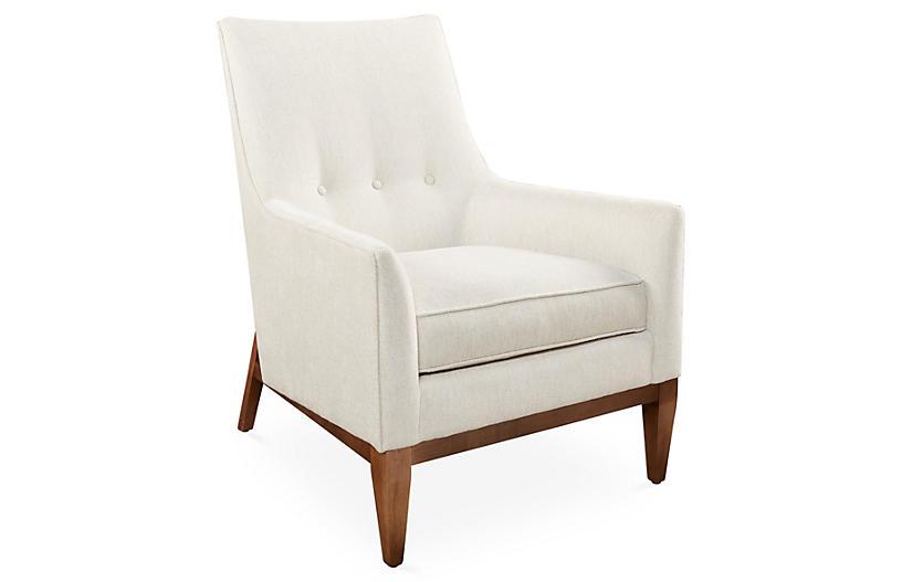 Lena Chair - Sand Chenille