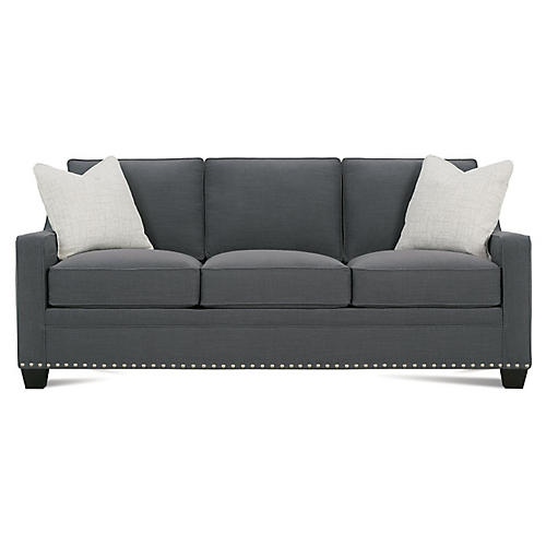 "Clarence 76"" Sofa, Slate"