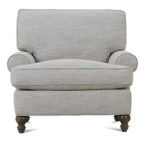 Cindy Club Chair, Putty