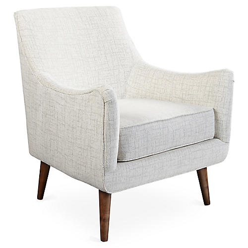 Oliver Chair, Platinum