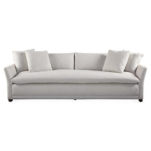"Tribeca 100"" Sofa, Pearl"