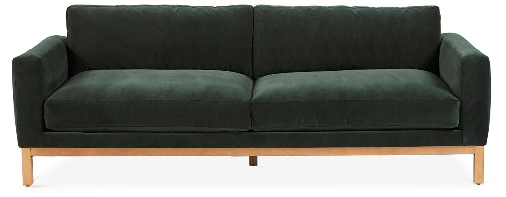 Forest green sofa furnitures green sofa fresh light forest fabric modern thesofa for Forest green living room furniture