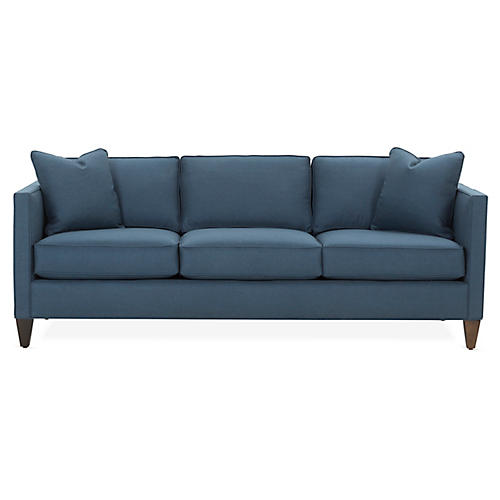 Cecilia Sleeper Sofa, Navy
