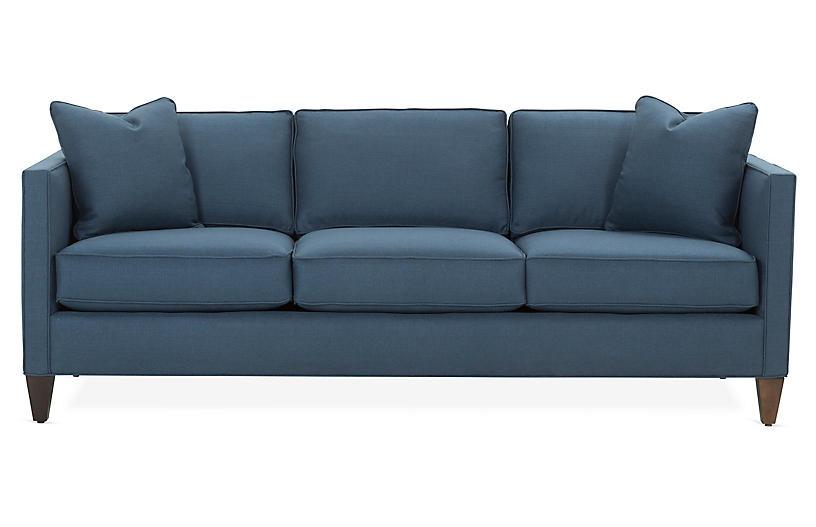 Cecilia Sleeper Sofa, Navy