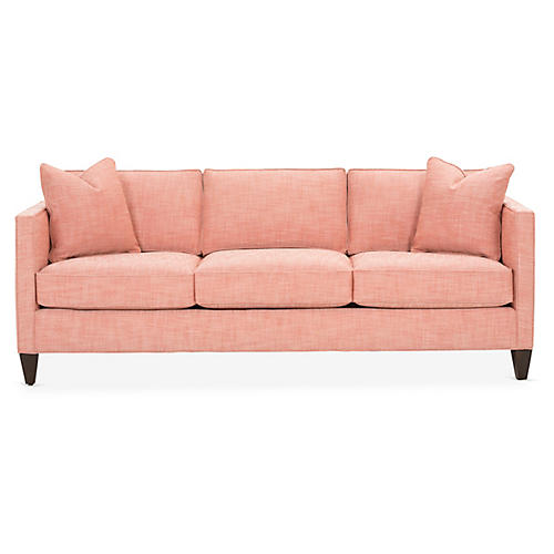 Cecilia Sleeper Sofa, Coral