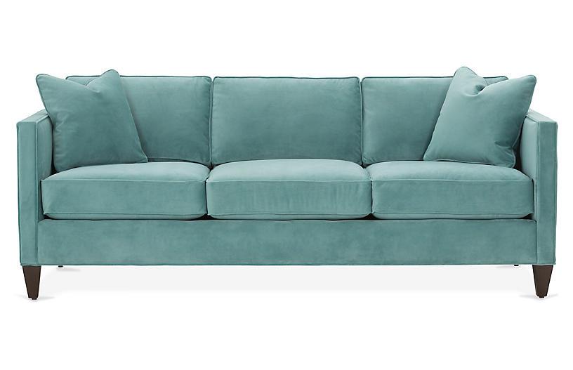 Cecilia Velvet Sofa