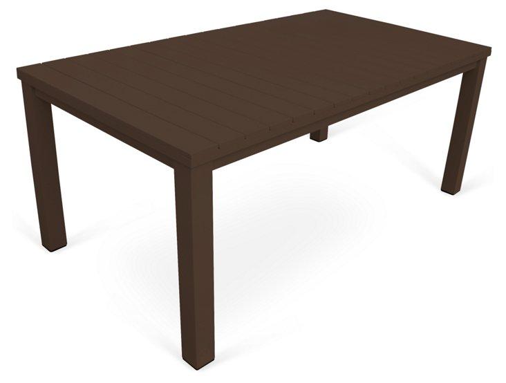"Fusion 72"" Dining Table, Espresso"