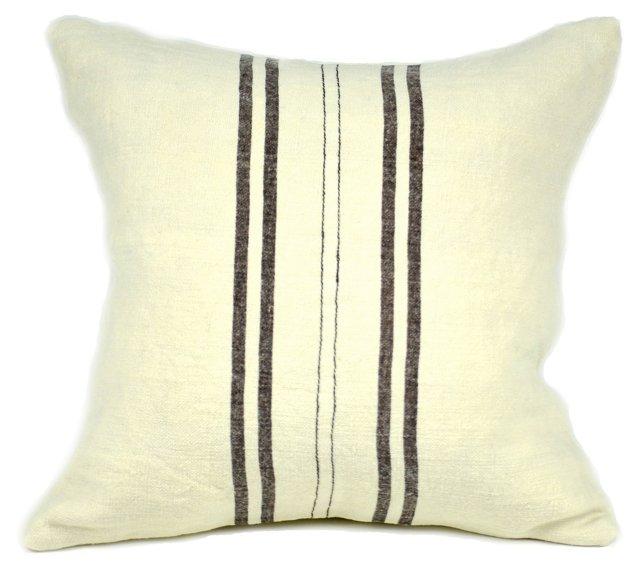 Kilim 18x18 Pillow, Brown