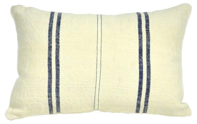 Kilim 14x20 Pillow, Indigo