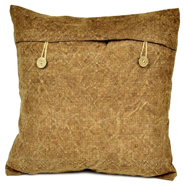 Kilim 18x18 Pillow, Brown