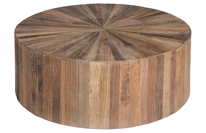 Cyrano Coffee Table, Natural