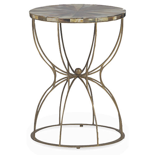 Gabrielle Side Table, Multi