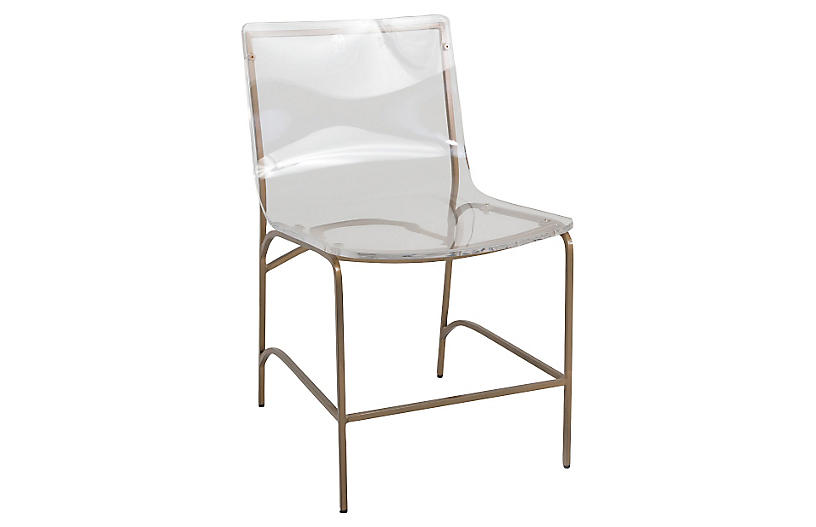 Penelope Acrylic Side Chair