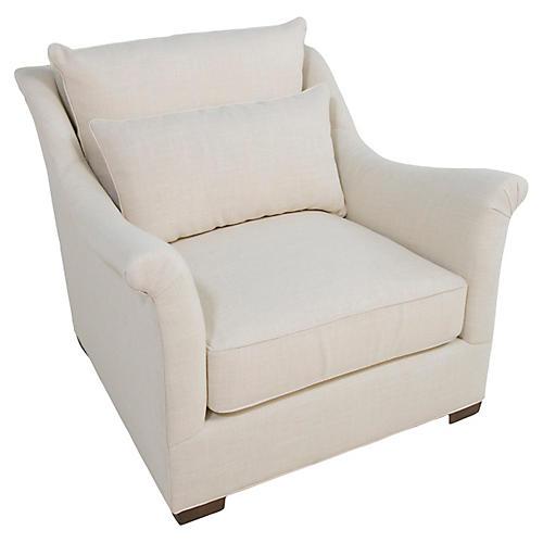 Westley Club Chair, Zulu Vanilla