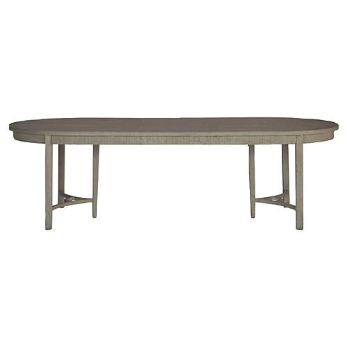 Whitlock 106  Dining Table  GraywashDining Tables   Dining   Furniture   One Kings Lane. Adaline Walnut Extendable Dining Table And 6 Chairs. Home Design Ideas