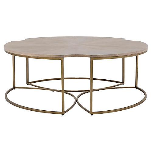 Zelda Coffee Table, Beige