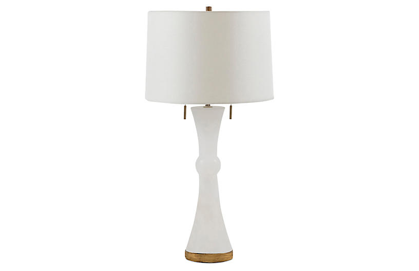 Alice Table Lamp, White