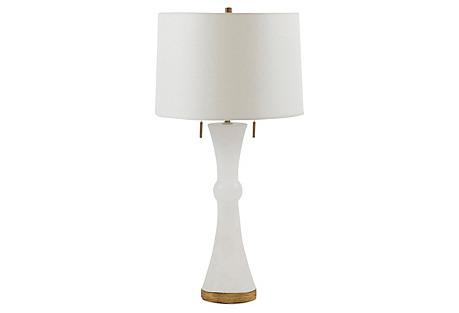 Alice Table Lamp, White