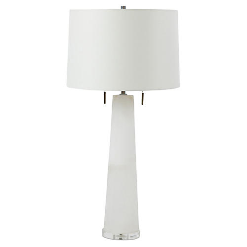 Margaret Table Lamp, White