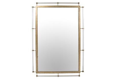 Diana Wall Mirror, Champagne