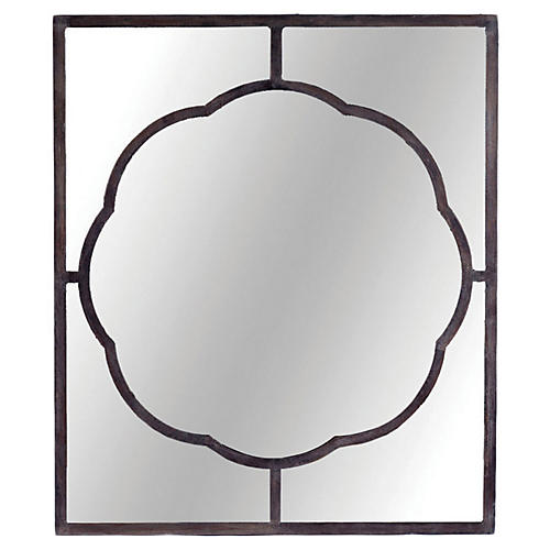 Dupont Wall Mirror, Black
