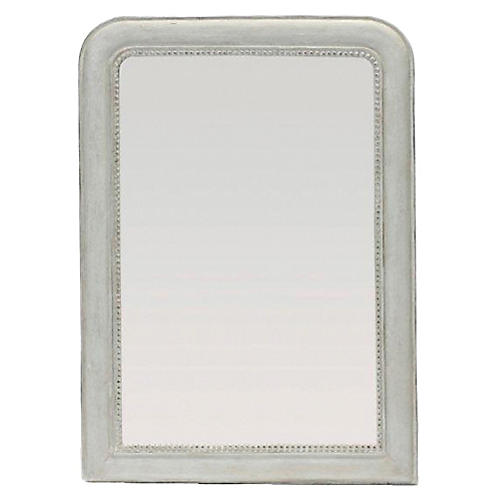 "Kathleen 39""x49"" Wall Mirror, White"