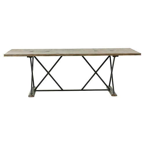 Taro Dining Table, Natural