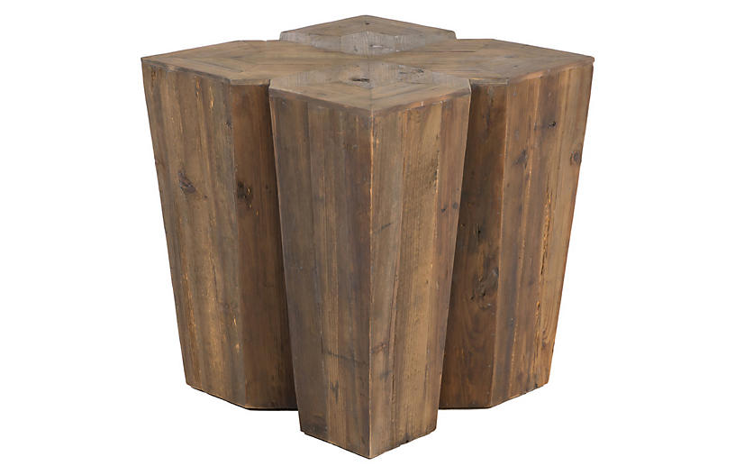 August Side Table, Natural