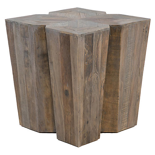 Arthur Side Table, Gray Elm