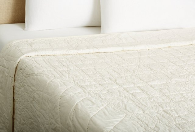 Boston Quilt, Ivory