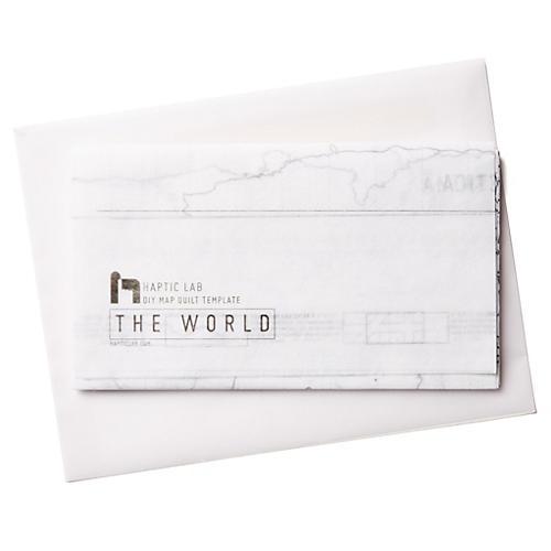 DIY Quilt Kit, World
