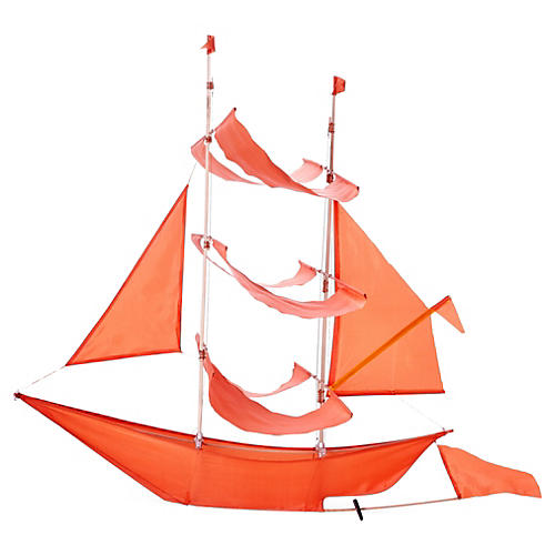 Sailing Ship Kite, Flame