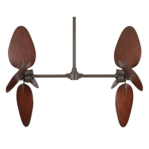 Palisade Ceiling Fan, Cairo Purple