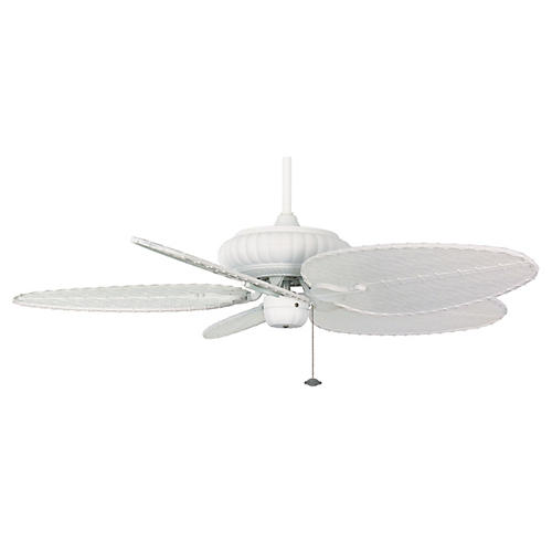 Belleria Ceiling Fan, Matte White