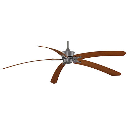 Islander Ceiling Fan, Pewter