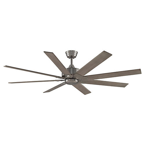 Levon Ceiling Fan, Gray