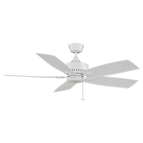 Cancun Wet Ceiling Fan, White