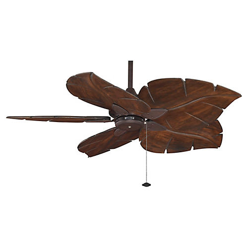 Windpointe Ceiling Fan, Rust