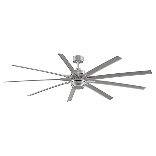 Odyn Ceiling Fan, Brushed Nickel