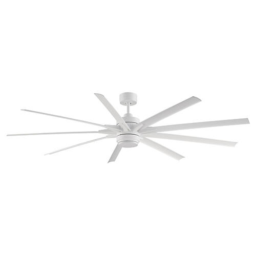 Odyn Ceiling Fan, Matte White